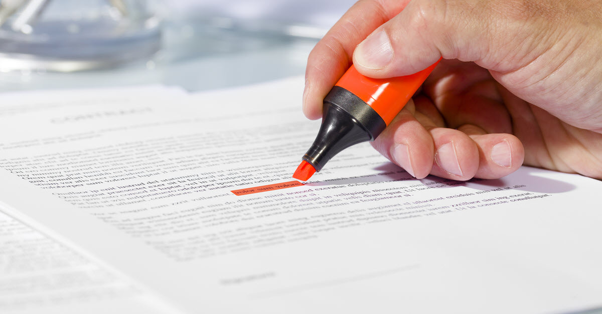 document approval and proofing
